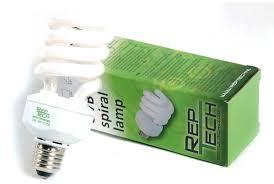 (LS) RepTech bombilla fluorescente
